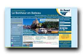 screenshot de www.leboat.fr
