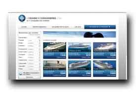 screenshot de www.leguidedescroisieres.com