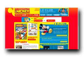screenshot de www.journaldemickey.com