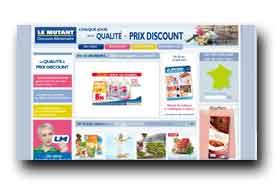 screenshot de www.lemutant.fr