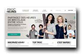 screenshot de www.lestrocheures.fr
