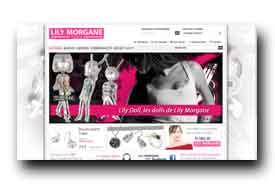 screenshot de www.lilymorgane.com