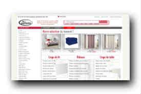 screenshot de www.linge-de-maison.net