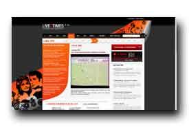 screenshot de www.live2times.com