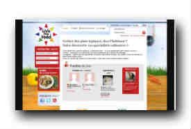 screenshot de www.livemyfood.com