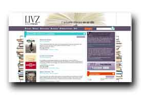 screenshot de www.livz.com