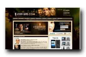 screenshot de www.lost-site.com