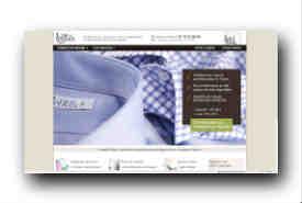 screenshot de www.ls-chemise.com