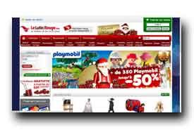 screenshot de www.lelutinrouge.com