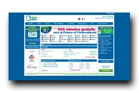 screenshot de www.lycamobile.fr