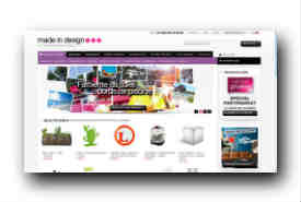 screenshot de www.madeindesign.com