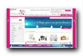 screenshot de www.mademoiselle-bio.com