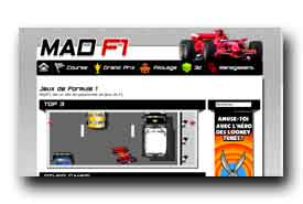 screenshot de www.madf1.com