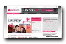 screenshot de www.ma-grande-taille.com