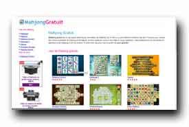 screenshot de mahjonggratuit.fr