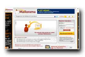 screenshot de www.mailorama.fr