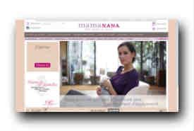 screenshot de www.mamanana.com