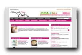 screenshot de www.mamzelleemie.com