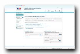 screenshot de www.marches-publics.gouv.fr