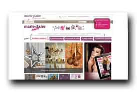 screenshot de www.marieclaireidees.com