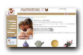 screenshot de www.marmottine.fr