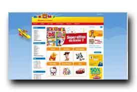 screenshot de www.maxitoys.fr