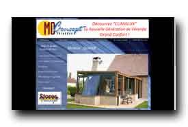 screenshot de www.md-concept.net