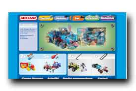 screenshot de www.meccano.fr
