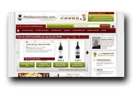 screenshot de www.meilleursvinsbio.com