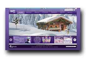 screenshot de www.milka.fr