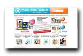 screenshot de www.monalbumphoto.fr