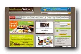 screenshot de www.mongeantcasino.fr
