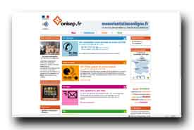 screenshot de www.monorientationenligne.fr