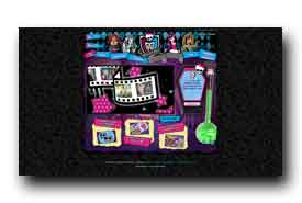 screenshot de www.monsterhigh.fr