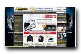 screenshot de www.motoblouz.com