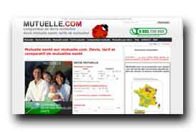 screenshot de www.mutuelle.com