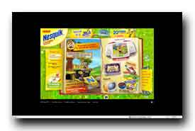 screenshot de www.nesquik-club.com
