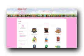 screenshot de www.nicebonbon.com