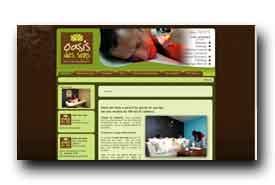 screenshot de www.oasis-des-sens.com