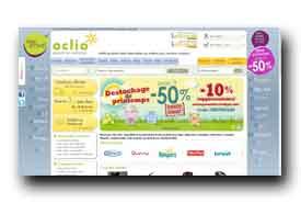 screenshot de www.oclio.com