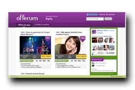 screenshot de www.offerum.fr/paris