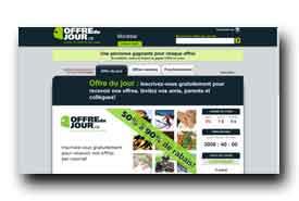 screenshot de www.offredujour.ca