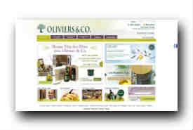 screenshot de www.oliviers-co.com
