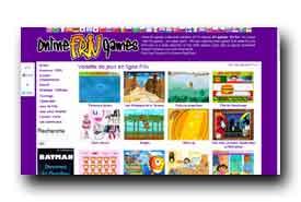 screenshot de www.onlinefrivgames.com