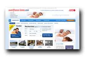screenshot de www.ouestfrance-immo.com