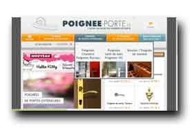 screenshot de www.poignee-porte.fr