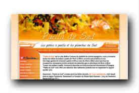 screenshot de www.paelladusud.com