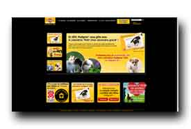 screenshot de www.pedigree.fr