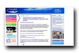 screenshot de www.phare.org