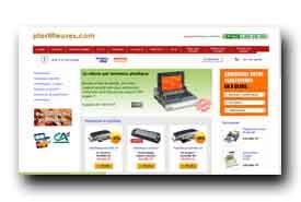 screenshot de www.plastifieuses.com